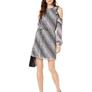 Michael Kors   Cold Shoulder Blouson Dress